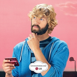 LG's new campaign to prevent bad sexting stars James Lipton offering his beard to youngsters to think things over before they react. HILARIOUS!