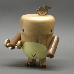 Noferin has adorable new Natural Wood Pecan Pals available in their store now!