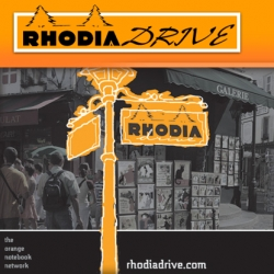 Rhodia Drive, the official blog for that l'orange notebook has unveiled their new blog. Bienvenue!