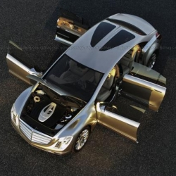 Mercedes Benz steps up their game. Check it out! The awesome Mercedes-Benz F 700 Research Car