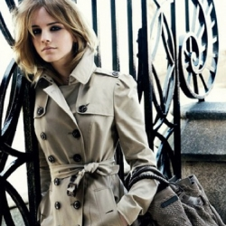 Emma Watson becomes the face of Burberry for the AW/09 campaign - See full set of leaked photos