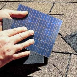 Flexible Solar Cell Roof Shingles!