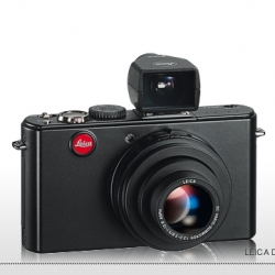 """Brilliant Viewfinder"" add on for the Leica D-Lux4 ~ i didn't realize that was an option!"