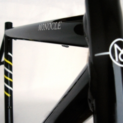 Monocle-Audax bicycle frame concept from Death Spray Custom.