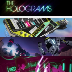"Awsome music video for ""The Holograms"" by Mathematic Studio in France. The style is Anime, but heavily influenced by the 80's"