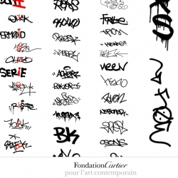 Graffiti ~ as explored by the Fondation Cartier pour l'art contemporain