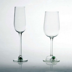 Losing your marbles ~ a series of glasses by charlotte moneypenny