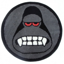King Ken from Amos Toys by James Jarvis now also comes in the form of a rug mat. Love it!