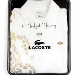 Lacoste and designer Micheal Young created the Plastic Polo now, fusing textile and plastic together. Once again an impressive project by the designer!!!