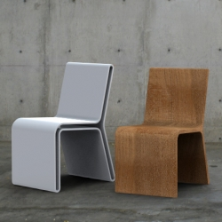 Zanic Design by Alberto Villarreal ~ the Silla Guarda inside-out collection... two chairs in one