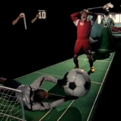 A quirky, Gondry-esque commercial for Nomis football boots from Woof Wan-Bau and Nexus.