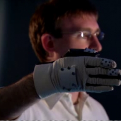 Oblong has been working on a new way to interface with hand gestures as navigation... as seen in the Minority Report... check out these really geeky vids