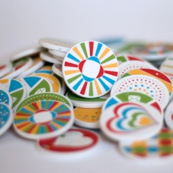 Life Tokens ~ A new fun way to send someone a message. People receive a printed token with a unique code and enter the unique code for a special message!