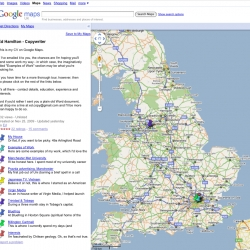 A global CV hosted on Google Maps. Copywriter Ed Hamilton went a long way beyond the classic word document to tell prospective clients about his work.