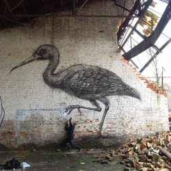 Exhibition of amazing work by artist ROA tonight (April 8th) at Pure Evil Gallery in London.