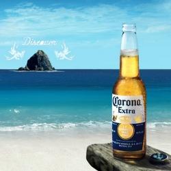 Browse and wander the flashy Corona Beach