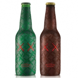 Collaboration between Mexican beer brand Dos Equis and NY artist Kaws.