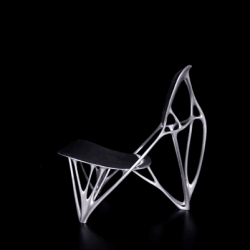 Bone furniture by Joris Laarman. Taking an aesthetic note from the biological generative process of bones, these chairs mimic skeletal qualities while serving as a functional piece of furniture.