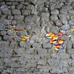 Jan Vormann does incredible work filling in the cracks in your walls with LEGOS!