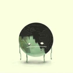 A brilliant  animation by three legged legs. In a PA manner they illustrate how humanity is wreaking havoc on our once healthy planet. [Editor's Note: Prev seen as #249, but its been a while]