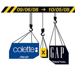 In collaboration with Gap, the Parisian concept store Colette will come to NYC for a month-long pop up store concept.