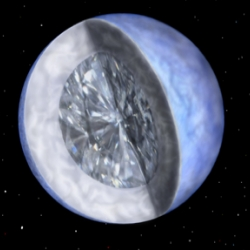 "White Dwarf Stars: Like a Diamond in the Sky - ""Bill Gates and Donald Trump together couldn't begin to afford it."""