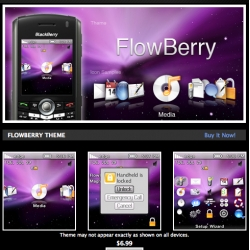 Flowberry ~ a new blackberry theme to mac-ify your bbery ~ see the vid