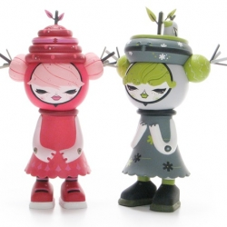 StrangeCo's Julie West Bumble and Tweet figures are so adorable! Launching .... soon?