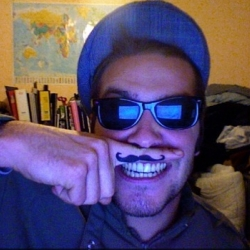 "Mustache! Send in a photo of your own ""mustache""! Funny little project!"