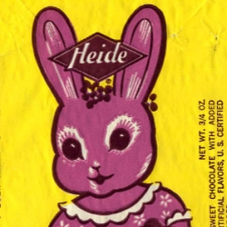Tick Tock Toys Archives and Galleries feature scans and photos of vintage packaging and advertisements. The photo above is from Food Packaging>Candy Archive.