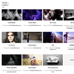 New Synthesis reports on Visual Culture; design fashion art lifestyle interiors architecture technology innovation science ~ lots of links since