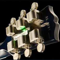 Gibson introduces the world's first guitar with  Robotic Technology. It tunes itself.