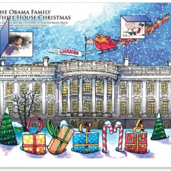 An advent calendar for Obama's inauguration from a former columnist at the Chicago Sun-Times.  Great idea and a good way to channel your excitement for this big day...