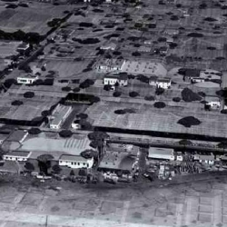 Wow. Can YOU spot the  airplane factory down there? Must check out these pics of how the Lockheed Burbank Aircraft Plant was hidden during WWII