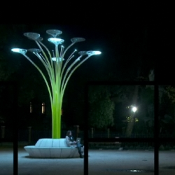 I just stumbled across a great video from Lexus about iconic designer Ross Lovegrove and his  Solar Tree. Aside from being beautiful to watch, the video is a rare opportunity to hear what Lovegrove thinks about the larger eco-design movement. Very cool stuff.