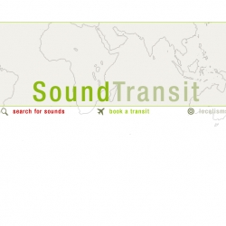 """SoundTransit allows you to """"book"""" an audio sensory flight to and from different cities around the world. After booking, you can download the """"soundscapes"""" and use them however and wherever you'd like."""