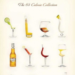Fun poster from Miller's MGD64 ~ love how these cocktails look like designer chairs...