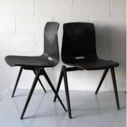 PROUVE STYLE INDUSTRIAL CHAIRS!