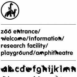 Zoological typeface by Jamie Gregory ~ a twist on vag rounded