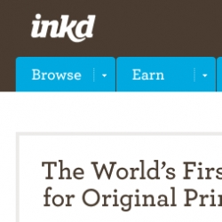 Inkd: The World's First Market for Original Print Design! We're proud to announce the launch of Inkd! Inkd is the first place to buy and sell professional, original print creative.