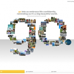 Visa launches their 'Go' global advertising campaign - a great interactive site with fun statistics and features flickr images users submit