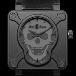 Really feeling the Bell & Ross BR01 Airborne (limited to 500 pieces!) the skull face even glows ~ Lets hope other shapes will follow!