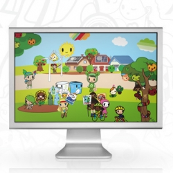 TokiDoki launches a new screensaver that updates frequent with new tokidoki themes!