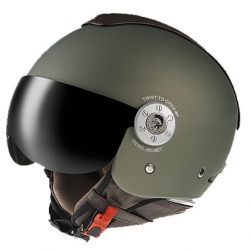 Diesel has produced a new series of motorcycle helmets. I love the look, matte colors, mohawk on top and no graphics on the upper.