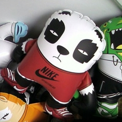 DGPH created some great inflatable characters for the Nike Sportswear launch.