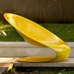 Loving the new Disk Poltrona armchair by Karim Rashid for Ferlea