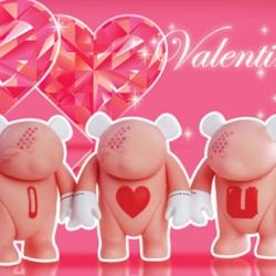 adFunture's Yoka comes in a new Valentine's Day edition.