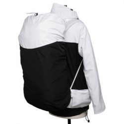 I am loving the idea by Japanese brand Visvim, offering backpack Gore-Tex covers, matching their outerwear. Genius!