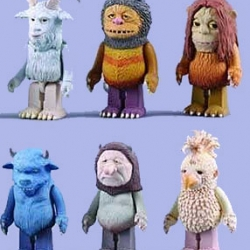 Where The Wild Things Are characters will be coming out in the form of Kubricks by Medicom Toy Japan. Great news!