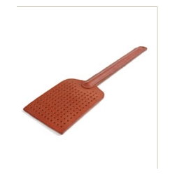 A luxury leather fly swatter from Bill Amberg and designed by Sebastian Bergne. Cost? $108.00 USD.